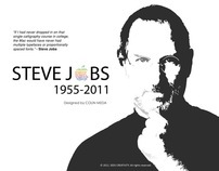 Steve Jobs Tribute (The apple of the innovative eye)