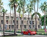 //C// Propuesta de reforma del Hotel Le Manji, Gabón