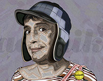 CHAVO ILLUSTRATION – [PSD FREE]