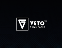 V E T O Logo - Egyptian Newspaper
