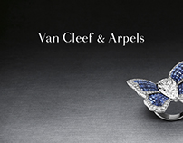 Van Cleef & Apels - CRM Tools (Art Direction, print)