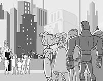 The Awesomes Storyboards