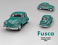 Modelagem 3D : Fusca