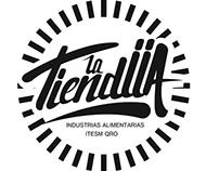 """Logo """"La TiendIIA"""""""