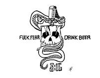 FOCKFEAR DRINKBEER
