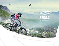 Fissa sportswear logo design