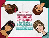 Actuemos para Denunciar la Violencia Contra las Mujeres