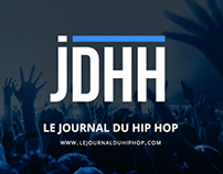 Le Journal du Hip Hop - Website & Branding