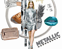 Metallic SS15 Mood Boards