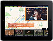 Application mobile / ARTVRAMA / ICI ARTV