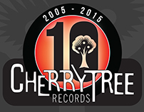 Cherrytree Records - 10th Anniversary Logo
