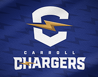 Carroll Chargers - Rebrand Concept