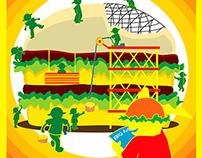 Artwork for Big Mac Art Contest