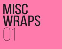 Misc. Wraps 01
