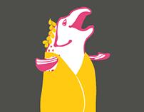 Fat Salmon Open Swim Logo