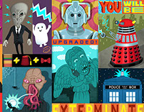 Doctor Who (Sci-Fi Wallpaper Series)