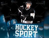 Hockey Sport Flyer