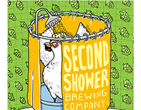 Second Shower Brewing Label