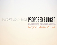 San Francisco Mayor's Budget Book Cover