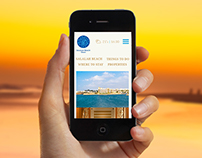 Responsive Web Design : Salalah Beach
