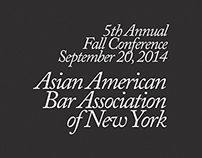 AABANY 5th Annual Fall Conference