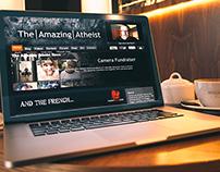 The Amazing Atheist Website Design