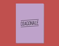Diagonale — Typographie