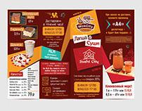 Wok & Sushi flyer