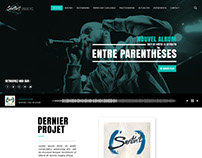 Freelance Project - Sentin'l Website