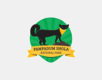 Pampadum Shola National Park Logo