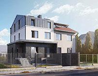 Przebudowa domu jednorodzinnego w Warszawie