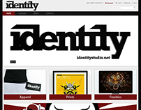Identity Studio Prototype Web Layouts