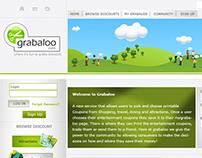 Grabaloo Web Layout