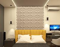 Bedroom & cloakroom(Feofaniya) / Спальня и гардероб