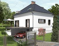 Przebudowa domu jednorodzinnego w Bielsku-Białej