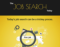 The Job Search Today Infographic
