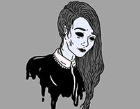 eyeless lady
