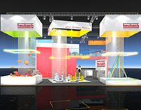Heubach Booth Visualization for BBCO MesseManufaktur