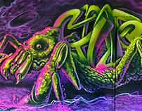 Spider neon GOOZE&BASKE