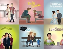 My favorite movies Illustration