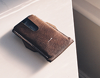 Leather Crafted Phone Wallet