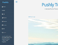 Pushly Tumblr Theme