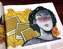 Scout Magazine September: Illustration
