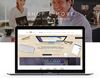 Shop&More Website