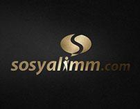 Sosyalimm.com Logo & Kurumsal Kimlik Tasarımı