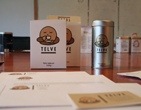 Telve Turkish coffee branding / packaging design.