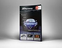 Autoperformans Dergisi Tasarımı