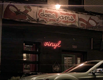 Dope Jams - Storefront Sign -  2006