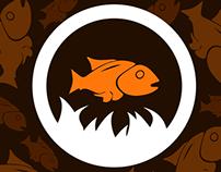 Kasimedu Meen Kadai Logo concept