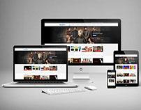 TV Reklam Responsive Web Sitesi Tasarımı